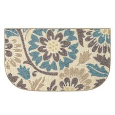 """Better Homes and Gardens Floral Print Rug, 1'8"""" x 2'10"""