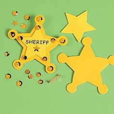 """6. """"Sheriff"""" Badge Craft Kit - 8 Great Play-Date Crafts … 