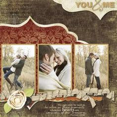 You - Gratitude Digital Series Kit Scrapbook / photo book Layout, by Jill Klasen, from the Creative Memories Digital Center, September 01, 2011, Detailed Instructions: projectcenter.cre...