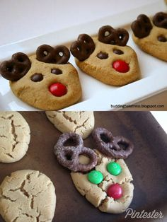 Pinterest Fail:  Reindeer Cookies