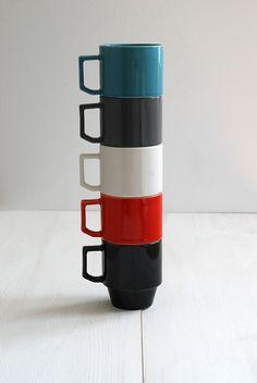 Hasami Block Mugs