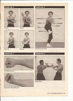 The seven power points and correct positioning in wing chun: targeting is a lot harder than it looks. It's easy to lose focus while blocking an opponent's punches.