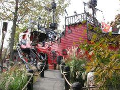 the pirate ship Pirate Theme, Renaissance Fair, Medieval Fantasy, Event Design, Pennsylvania, Pirates, Facade, Knight, Camping