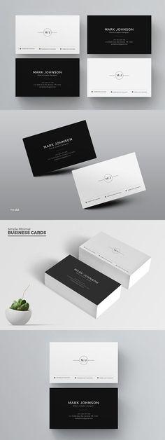 Lumina business card template clean business card business card templates colourmoves