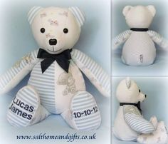 Lucas James Memory Bear