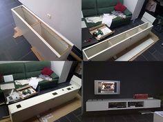 IKEA Hackers: Minimalistic Floating TV Unit