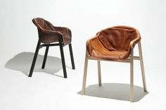 Nikolaj Steenfatt's Hardened Leather Chair