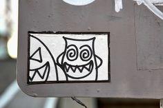 Shibuya Street Art Sticker | Flickr: Intercambio de fotos
