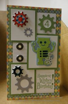 little boy birthday card