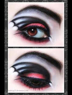 Vampire make up these sexy eyes would be perfect.