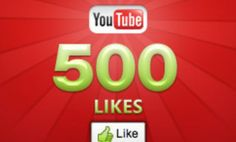 Get 500 Youtube video likes