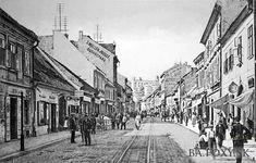 Ulice a námestia - Obchodná ulica - Pohľady na Bratislavu Bratislava, Old Street, Php, Street View, Times, Squares, Bobs