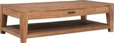 Breng je huis tot leven met salontafel Nouveau, herkenbaar aan de elegante tapse poot. Door gebruik te maken van oud, hergebruikt driftwood, heeft Nouveau een warme, doorleefde uitstraling. Nouveau is met de hand gemaakt, wat de tafel bijzonder sfeervol maakt. De fraaie gebruikssporen maken dit model tot een uniek stuk in uw inrichting! In de praktische maat 140x70cm, met een handige lade, geschikt voor elke zithoek.