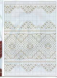 This Pin was discovered by Mar Towel Embroidery, Hardanger Embroidery, Folk Embroidery, Learn Embroidery, Hand Embroidery Stitches, Embroidery Techniques, Embroidery Patterns, Cross Stitch Sampler Patterns, Crochet Stitches Chart