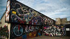 Cycling octopus by Chris Rutterford, Edinburgh