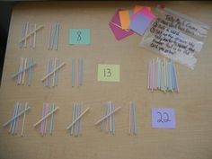 Tally Marks Game-another option would be to use popsicle sticks with a deck of playing cards and either remove J,Q, K or assign values to them.