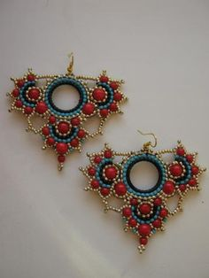 Beaded Earrings...