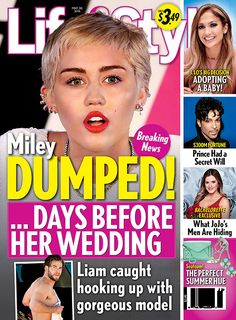 Miley Cyrus And Liam Hemsworth Break-Up After Liam Hooks Up With Gorgeous Model - Dumped Before The Wedding Bells!