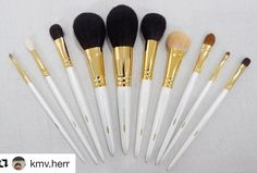 #Repost @kmv.herr with @repostapp  I declare this set complete. I will not be buying anymore the other brushes in the Chikuhodo GSN Series. Thanks for this lovely picture Bea @abvherrera and thank you Toshiya-san @toshiyafukuma for helping me complete my GSN set#fudejapan #toshiyafukuma #cdjapanbeauty #chikuhodo #chikuhodogsnseries #makeupbrushes #fude #madeinjapan #makeupbrushes #makeupbrushlover #makeupbrushes