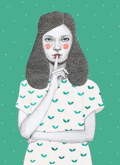 Sofia Bonati on Society6. Good lord, these... - SUPERSONIC ART