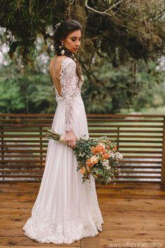 6af306d37 vestido de noiva vintage e boho chic Vestido De Noiva Boho Chic, Vestido  Madrinha Casamento