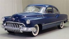 1950 Buick Special - My old classic car collection Retro Cars, Vintage Cars, Antique Cars, Vintage Auto, Classic Car Garage, Old Classic Cars, Lifted Ford Trucks, Old Trucks, Buick Cars
