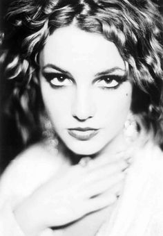 Black and White Britney Spears
