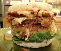 How to Make Flavorful Veggie Burgers