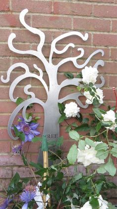 More of our stainless steel Garden Art ready for Blenheim Palace Flower Show this weekend!  http://www.c3signs.co.uk/gardens/