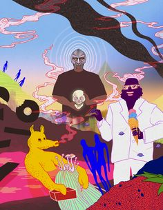 MF DOOM - Captain Murphy (Flying Lotus) - Quasimoto (Madlib)