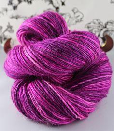Heather itinerante 50g mauve//purple Merino Aguja fieltrar Lana Fibra