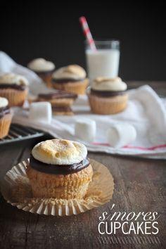 S'mores Cupcakes - shutterbean
