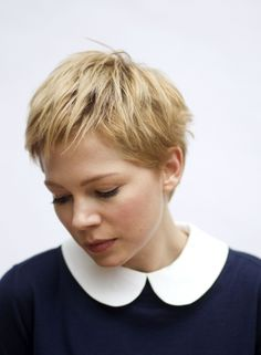 Michelle Williams' hair is just always perfect