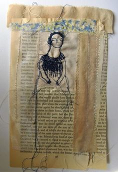 Etsy Find of the Day: Cathy Cullis Mixed-Media Textile Art