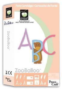 Cricut Cartridge - ZooBalloo