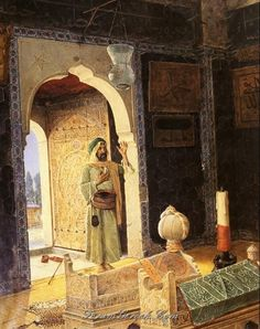 Osman Hamdy-Bey Old Man before Children's Tombs hand painted oil painting reproduction on canvas by artist Portrait Photos, Portraits, Old Egypt, Turkish Art, Historical Art, Oil Painting Reproductions, Ottoman Empire, Arabian Nights, Islamic Art