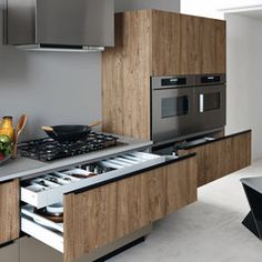 Black kitchen vos71 kitchen pinterest cuisines for Cesar arredamenti spa