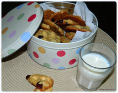 Cookies de macadâmia chocolate branco e cranberries