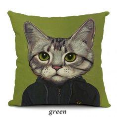 Creative Cat decorative pillows for couch cute animal sofa cushions
