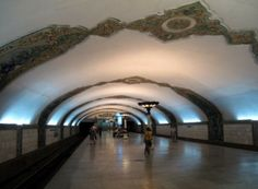 World Most Amazing Interior Design Of Subway Stations - Alisher Navoi Metro Station , Tashkent, Uzbekistan