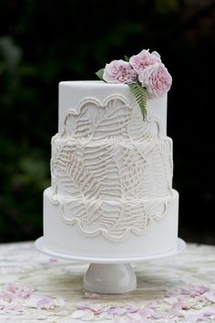 cake photographed by Heidi of Our Labor of Love