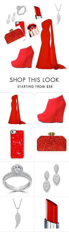 """Walk the Red Carpet"" by midnightmist18 ❤ liked on Polyvore featuring Alex Perry, Casetify, Judith Leiber, Bliss Diamond, Bloomingdale's and By Terry"