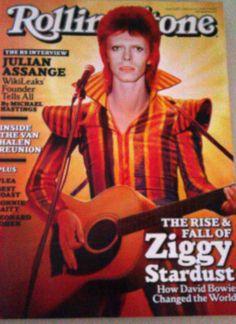 David Bowie, Rolling Stone Magazine, February 2, 2012