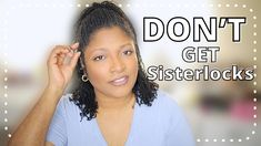 The Unfortunate Cons of Sisterlocks - YouTube Sisterlocks, Locs, Natural Hair Styles, Rainbows, Youtube, Goddess Braids, Rainbow, Youtubers, Youtube Movies