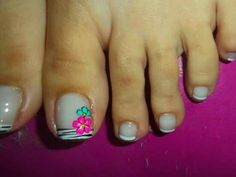 Pedicure Designs, Toe Nail Designs, Pedicure Ideas, Toe Nail Art, Toe Nails, Manicure And Pedicure, Pedicures, Eyeliner, Summer Nails