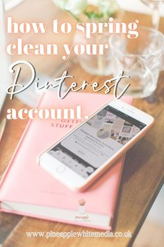 Spring cleaning our account, one of the ways to get started on Pinterest this year during the challenge of juggling homeschooling and trying to run and grow a business. Pinterest tips and  ideas for staying connected with limited time.