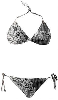 Boho Girl Beach Wear Swimsuit - Bikini. Feel Good Fashion & Living® by Marijke Verkerk Design www.marijkeverkerkdesign.nl