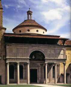 Façade (begun 1441) | Cappella dei Pazzi, Santa Croce, Florence | Filippo Brunelleschi