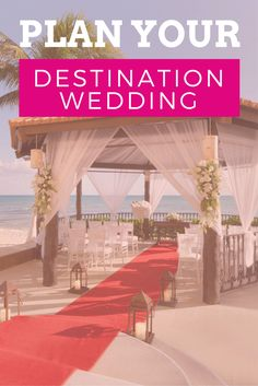 Get expert help planning your destination wedding, from the experts!