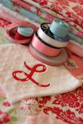 How to applique & zig zag sew it on